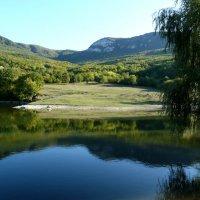 Синее озеро :: Ольга Голубева