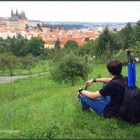 Вид на Градчаны и Пражский град. :: Anna Gornostayeva