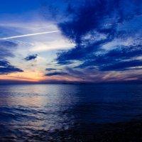 синий закат :: Олеся Семенова