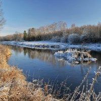 На снежной стороне берега :: Андрей Куприянов
