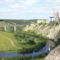 Завод на скале :: Александр