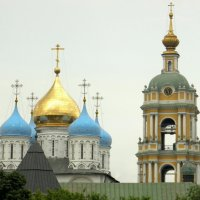Новоспасский мужской монастырь в Москве. :: Елена