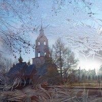 сквозь морозное окно :: Ольга Рывина