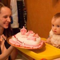 Первый торт :: Valentina Zaytseva