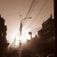 Мой город, вечер.. :: Ольга Савельева