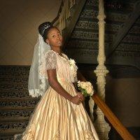 Русское дворянское свадебное платье XIX века :: Дарья Казбанова