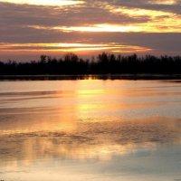 Рассвет над Днепром. :: Виталий