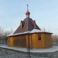 Парк Садовники зимой :: Юрий Бомштейн