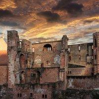 Руины старого замка. Хайделберг. :: Valentina Valentina