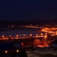 Ночью у озера :: Mikhail Latukhin