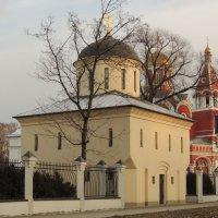Церковь Новомучеников и Исповедников Российских в Петровском парке. :: Александр Качалин
