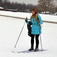 лыжница :: Владимир Болдырев
