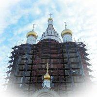 Строительство Храма. Леса :: Елена Федотова