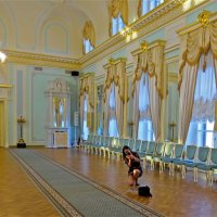 в Константиновском Дворце :: Елена