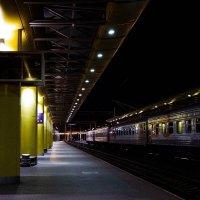 Ночь.Минск.Вокзал :: Мария Буданова