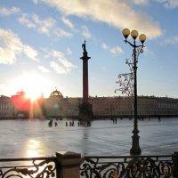 На Дворцовой площади :: Николай