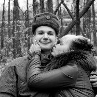 Мать и сын-солдат :: Антон Мельников