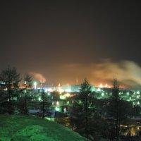 Ночной зимний Айхал :: Андрей Чащин