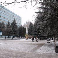 Зима у Политеха Курск :: Анатолий Бугаев