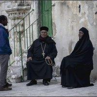 В Эфиопском монастыре«Израиль, всё о религии...» :: Shmual Hava Retro