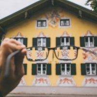 Алексей Скачков - Роспись на стенах домов в Обераммергау, Германия