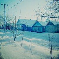 Дарья Старкова - Зимняя деревушка :: Фотоконкурс Epson