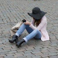 На площади Гранд Плас :: Елена Павлова (Смолова)