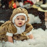 снежная малышка :: Янина Гришкова