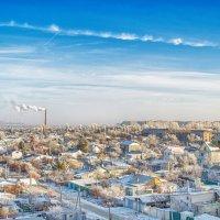 Городской пейзаж :: Александр Афромеев
