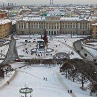 Исаакиевская площадь новогодняя :: Елена