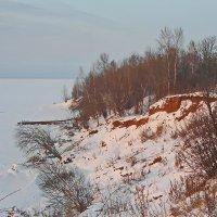 На зимнем берегу :: val-isaew2010 Валерий Исаев