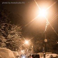 Московские улицы зимой :: Андрей Богданов АндиСтудия.РФ