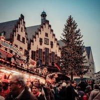 Рождественский рынок во Франкфурте на Майне :: Katerina Tighineanu