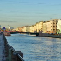 Утро на реке Фонтанке. :: Владимир Гилясев