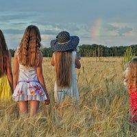 Заворожила радуги дуга :: Ирина Данилова