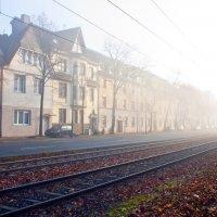 Артём Костюшин - Утренний туман в Дюссельдорфе, Германия