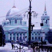 Знаменский собор в г Курске зимой :: Анатолий Бугаев