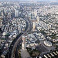 Посадка в Тель - Авиве :: vasya-starik Старик
