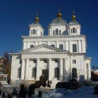 собор Казанской Богоматери в Казанском женском монастыре г. Ярославля :: Galina Leskova