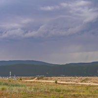 Грозовое небо над Нижнеангарском :: val-isaew2010 Валерий Исаев
