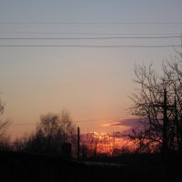 последний отблеск заката :: вера Верхозина