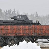 Русская зима,только для русских танков. :: Андрей Куприянов
