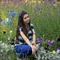 Цветок среди цветов :: Владимир
