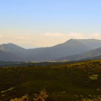 Черногорский хребет :: Nina Streapan