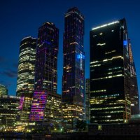 Москва-сити :: Alex Bush