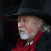 Портрет пожилого техасца :: Танкист .