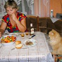 Ужин.. :: Владимир Сквирский