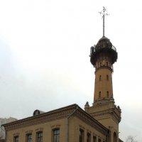 Полицейская пожарная часть с башней-каланчей в Сокольниках :: Александр Качалин