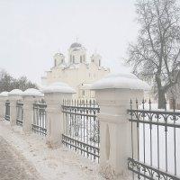 туман в Великом Новгороде :: Moscow.Salnikov Сальников Сергей Георгиевич
