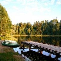"""Прекрасное место на озере """"Селигер"""" :: татьяна иванова"""